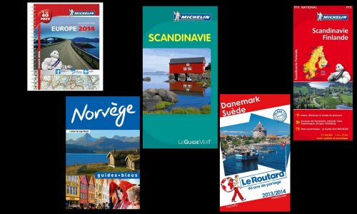 Guides et cartes Scandinavie