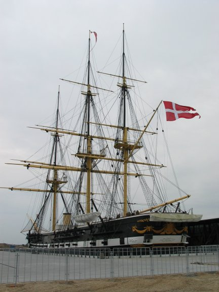 La frégate Jylland - Danemark