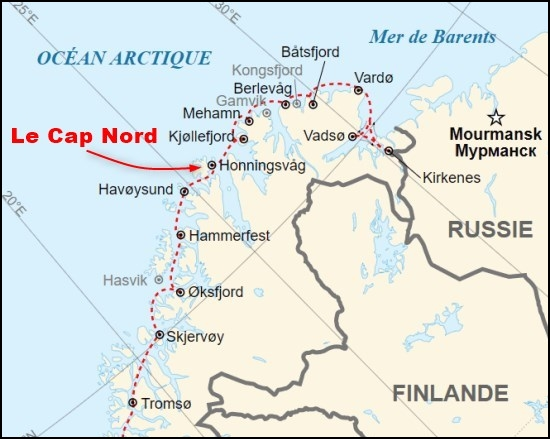 Le Cap Nord - Norvège