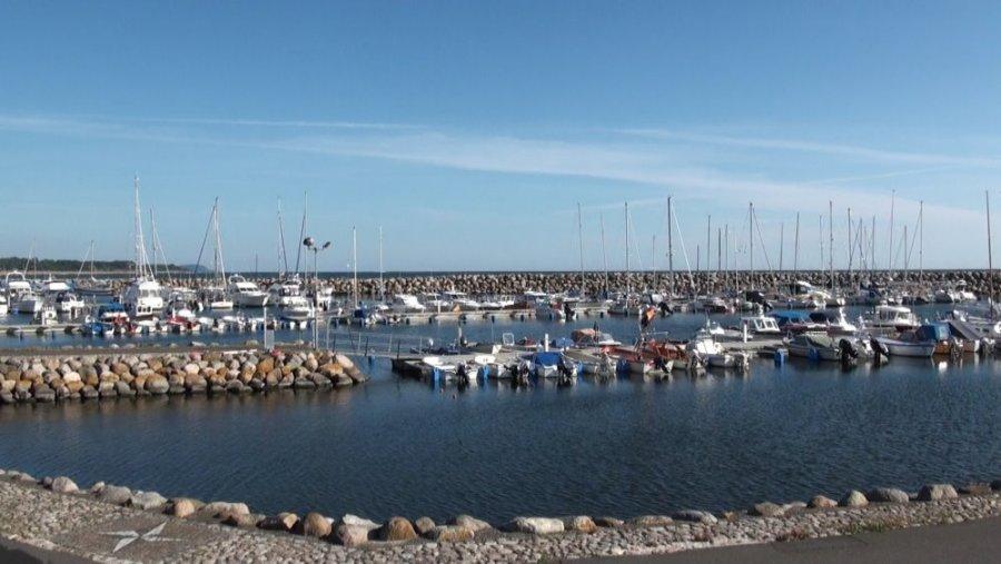 Le port de plaisance de Simrishamn - Suède