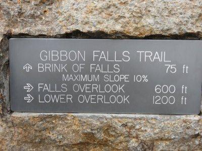 Les Gibbon Falls - Yellowstone NP