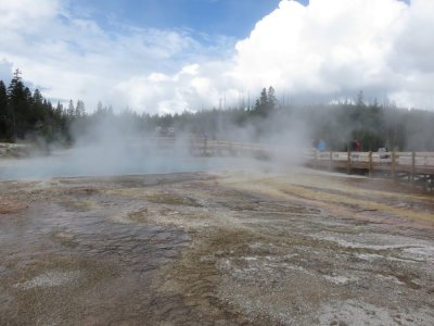 Le Parc National de Yellowstone - Wyoming (USA)