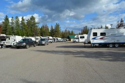 Wapiti campground - Jasper NP (Canada)