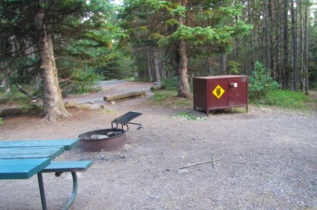 Au Colter Bay Campground - Le Parc National de Grand Teton - Wyoming (USA)
