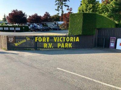 RV Park Fort Victoria - île de Vancouver (Canada)