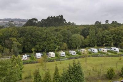 Aire de camping-car du parc biologique de Vila Nova de Gaia