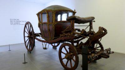 Coimbra - Carrosse au musée Machado de Castro