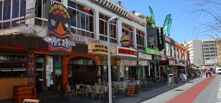 Bars et restaurants de Praia da Rocha
