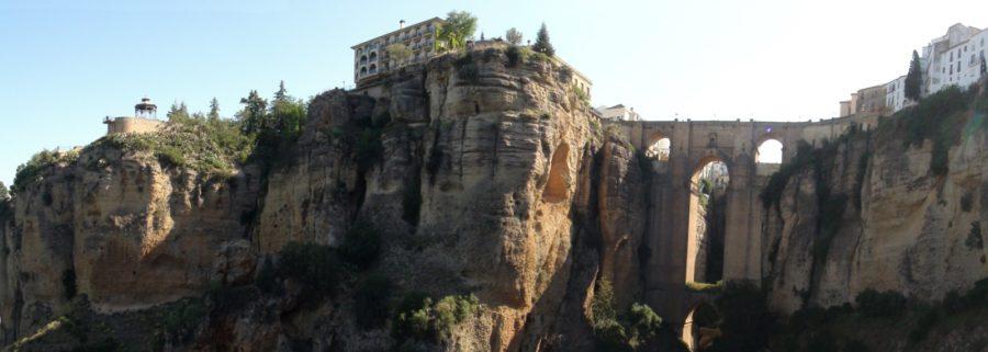 Vue sur Ronda et le Pont Nouveau