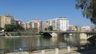 Séville - centre ville au bord du Guadalquivir