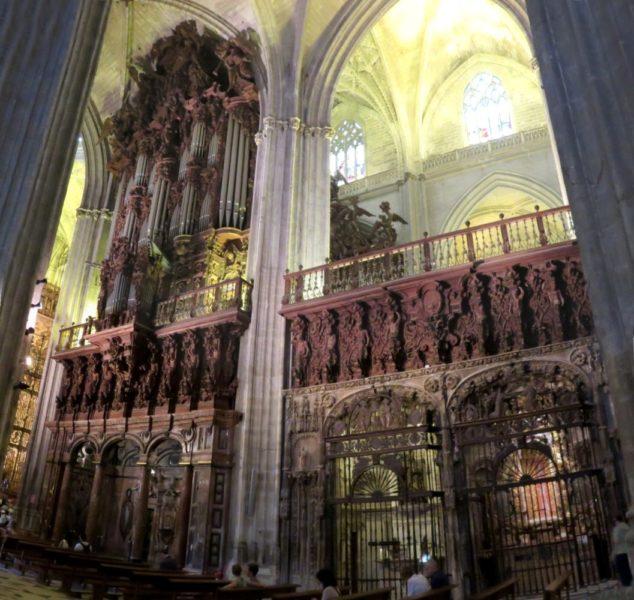 Les orgues de la cathédrale de Séville