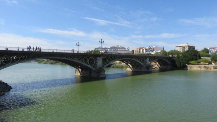 Séville - Le pont Isabelle II