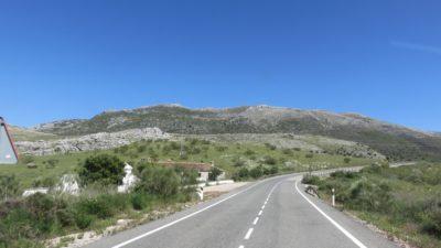 La route des villages blancs vers Ronda