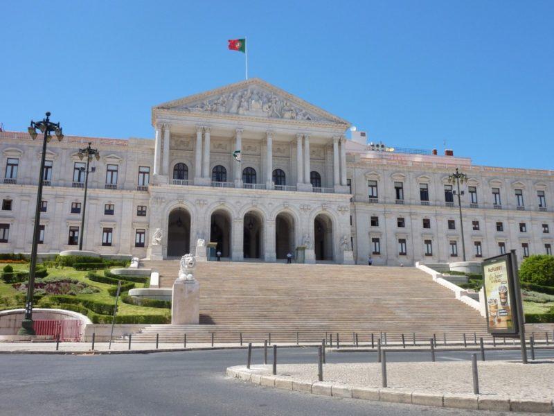 Palais Sao bento de Lisbonne - Siège du Parlement