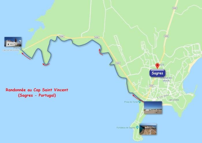 Randonnée au Cap St Vincent