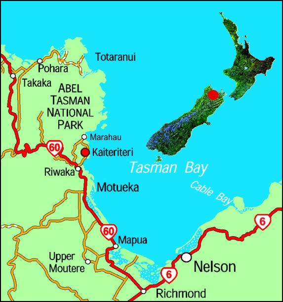 Le Parc National Abel Tasman - NZ