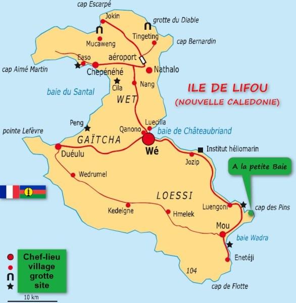 île de Lifou - Nouvelle Calédonie