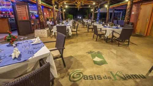 Restaurant l'Oasis de Kiamu - Lifou (Nlle Calédonie)