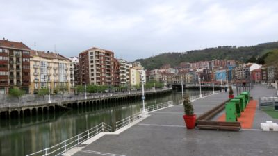 Bilbao - les bords du Nervion
