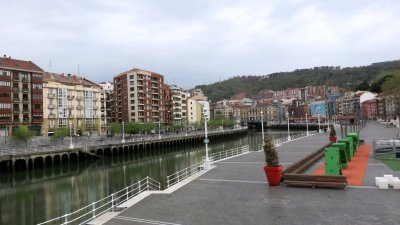 Bilbao - les bords du Nervion