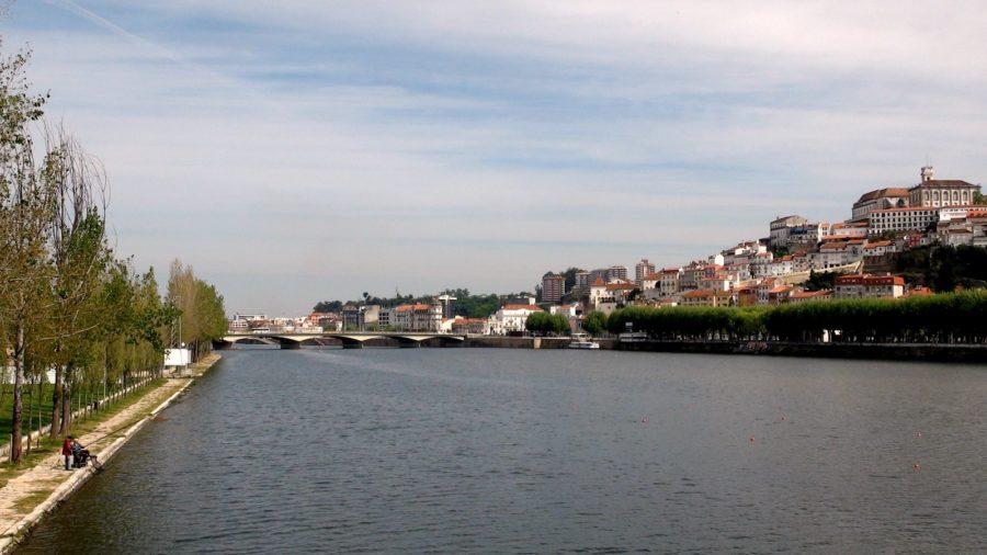 Coïmbra - Le fleuve Mondego