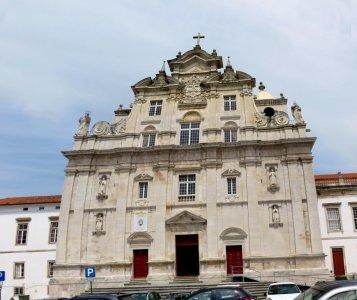Coimbra - l'église romane São Tiago