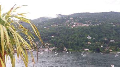Vue depuis Isola Bella (îles Borromées)