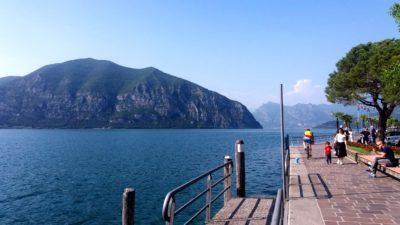 Iseo au bord du lac