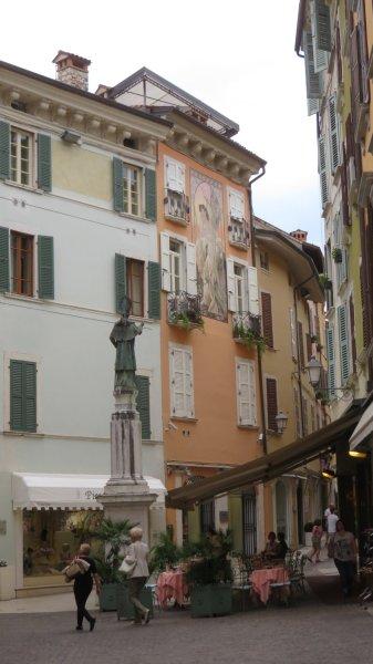 Les rues du centre ville de Salo