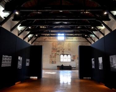 L'immense salle du palais de la Ragione à Mantoue