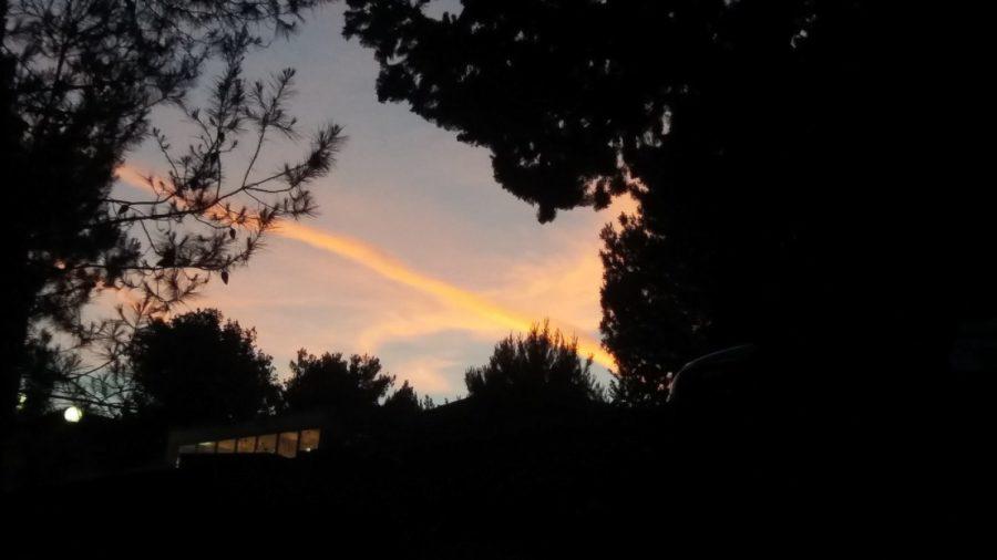 Coucher de soleil sur Seget Vranjica