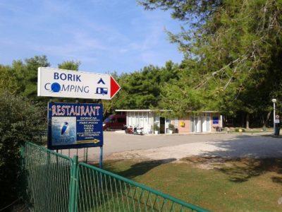 Camping Borik de Zadar (Croatie)