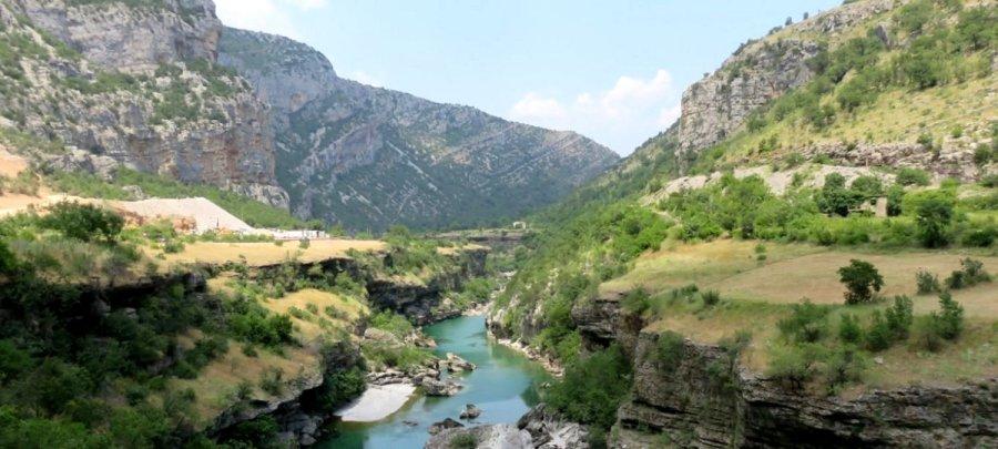 Le canyon de la Moraca - Monténégro