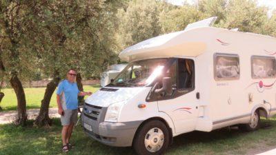 Au camping Oliva de Rabac