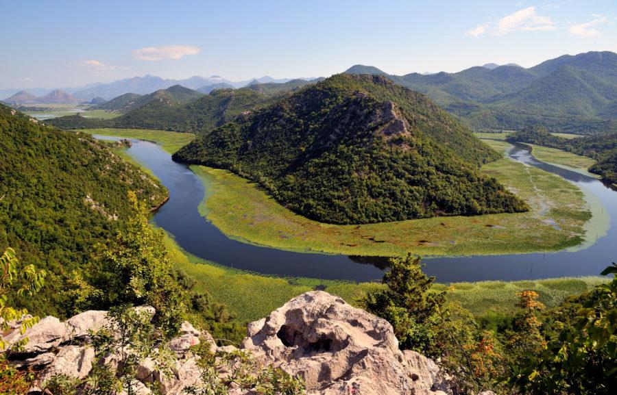 Les méandres du lac Skadar - Monténégro