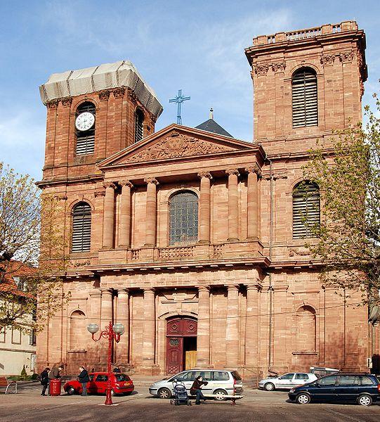 La cathédrale St Christophe - Belfort