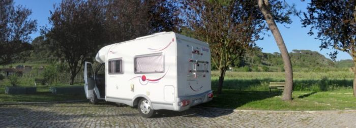 Aire de camping car à Coz