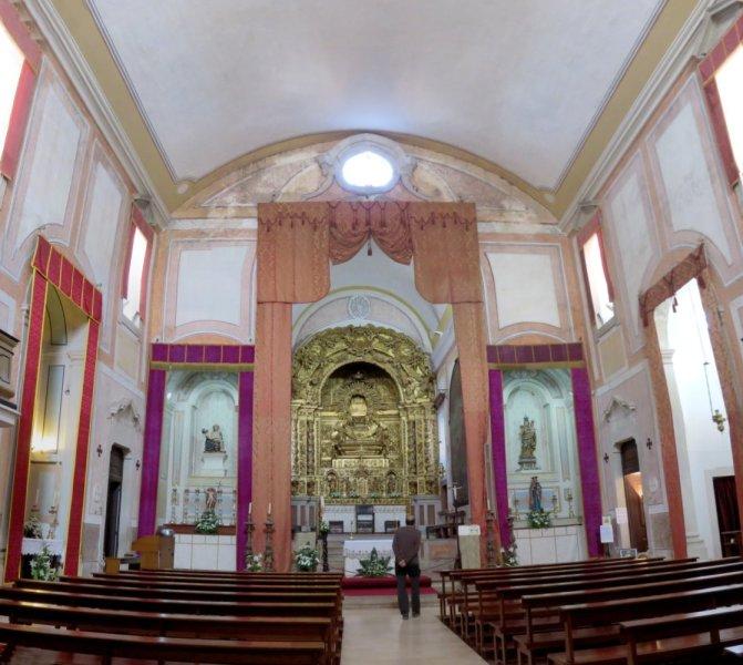 L'église d'Obidos