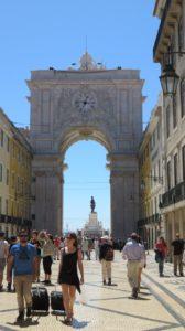 La porte de Lisbonne