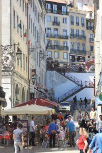 Lisbonne (le quartier de Baixa)