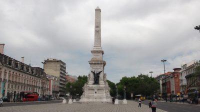 Obélisque sur la Praça dos Restauradores