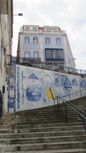 Lisbonne et ses escaliers