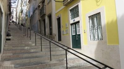 Lisbonne et ses escaliers interminables