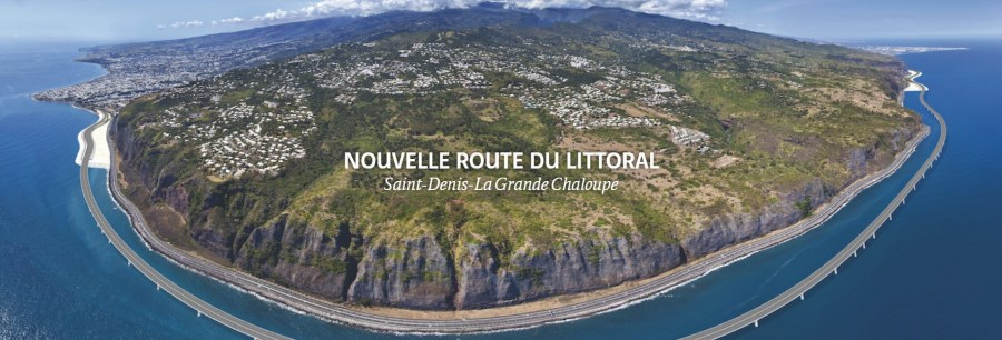 La nouvelle route du littoral - Réunion