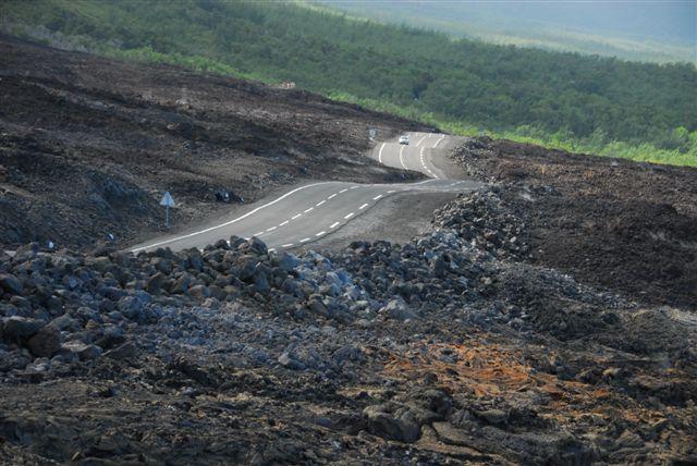 La route des Laves - Réunion