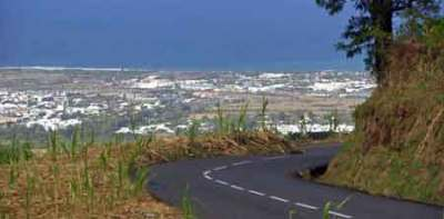 Sur la route des Makes - Réunion