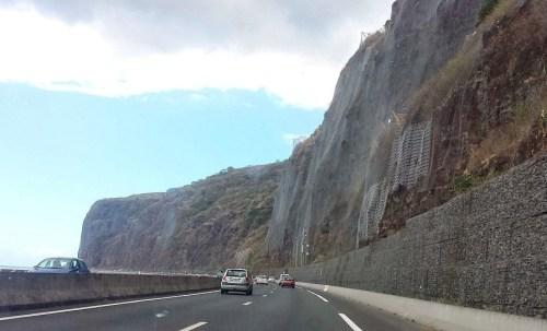 Sur la route du Littoral vers St Denis - Réunion
