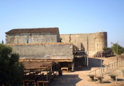 La cour du Château Sao Sebastiao de Castro Marim