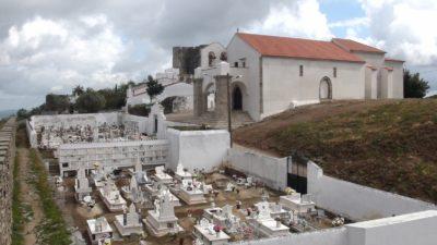 Le cimetière d'Evoramonte