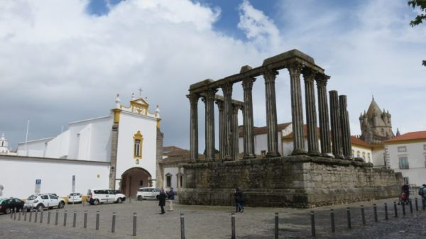 Le temple romain de Diane